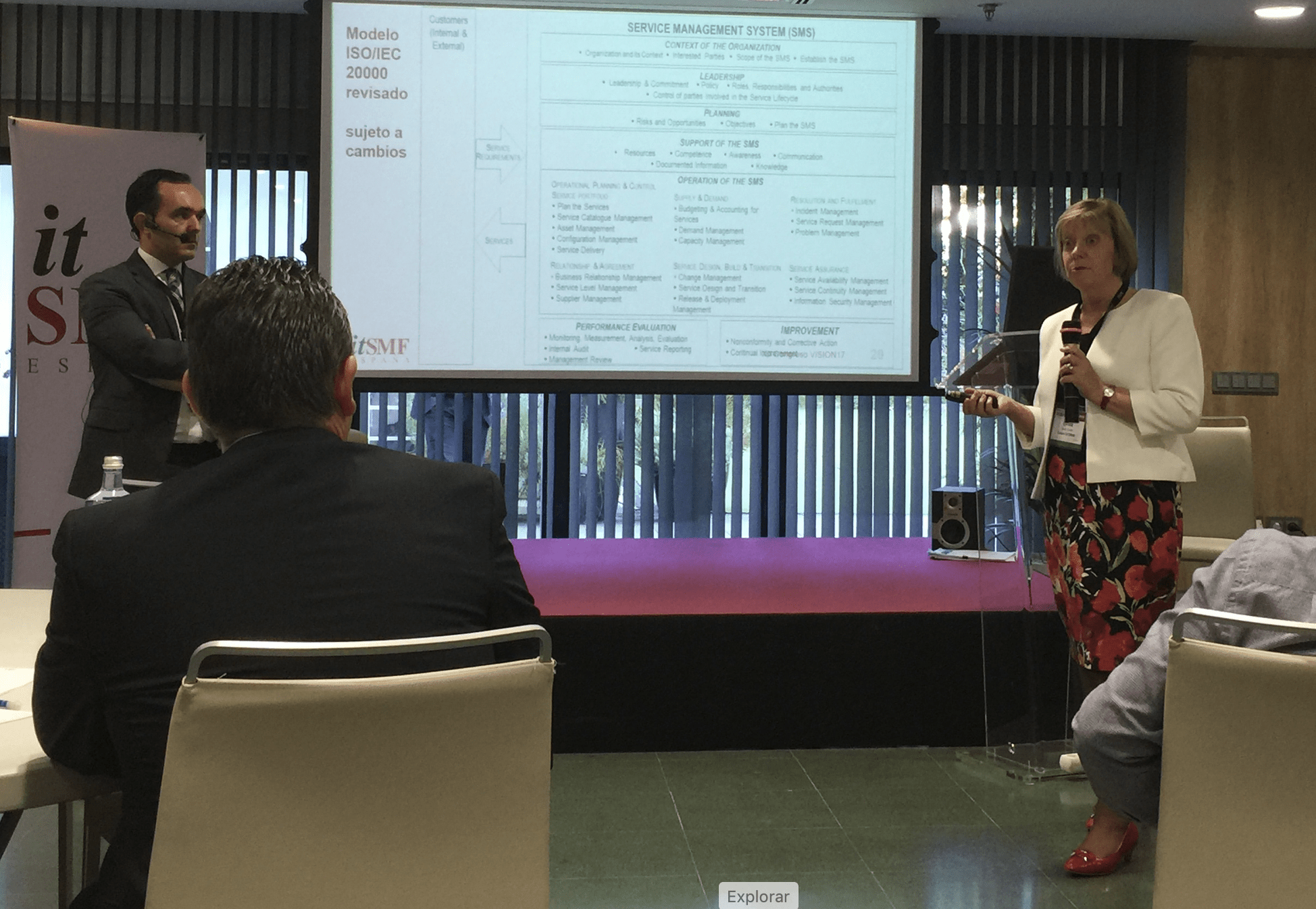 Diego Berea and Lynda Cooper explain the main features of the ISO/IEC 20000-1:2018