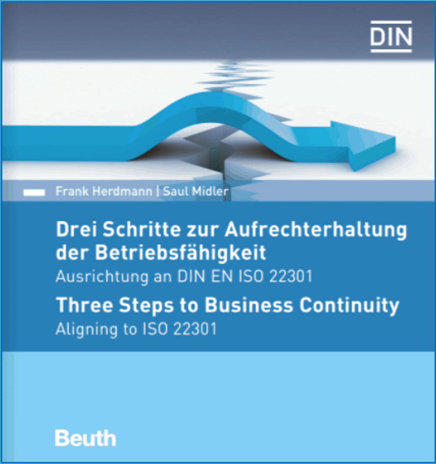 Three steps to Busines Continuity. Continuidade do Negócio